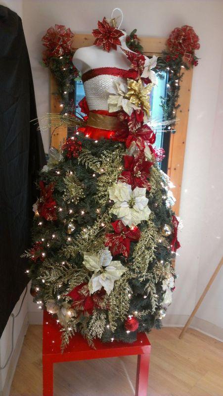 Vestidos De 225 Rbol De Navidad El Gancho