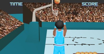 Juego baloncesto 3D online