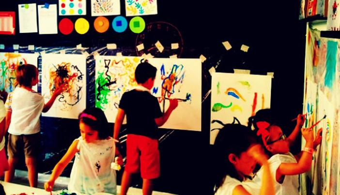 Taller de dibujo y pintura para ni os el gancho - Dibujos de pared para ninos ...