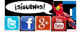 Seguir en redes sociales