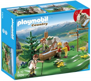 Playmobil Familia mochilera