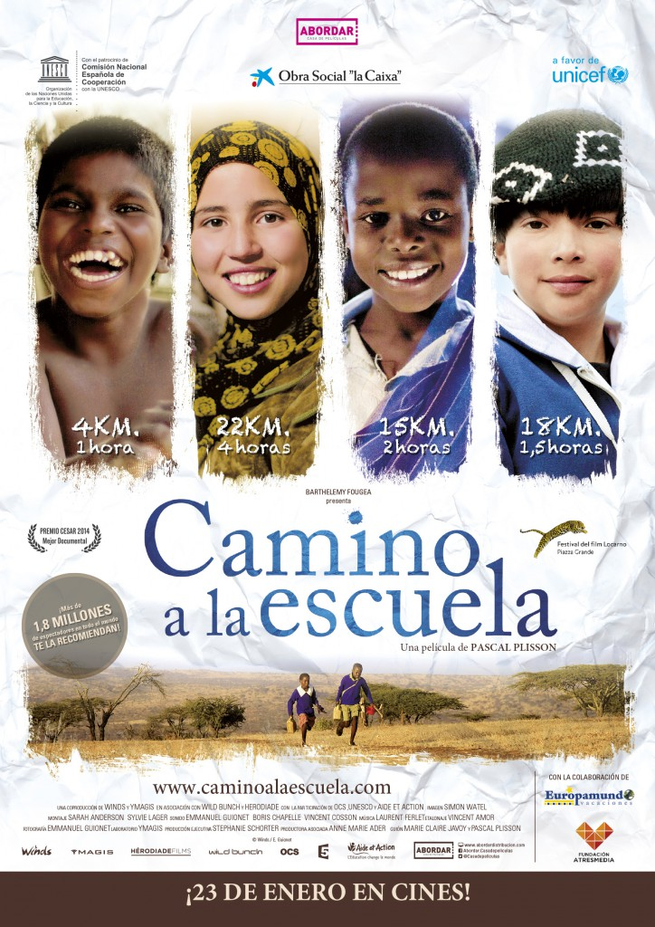 cartel_camino_Escuela