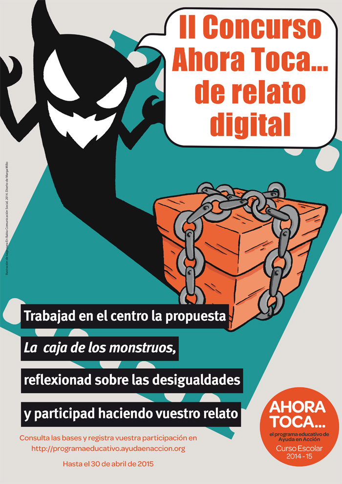 cartel concurso relato digital 2015 imprenta