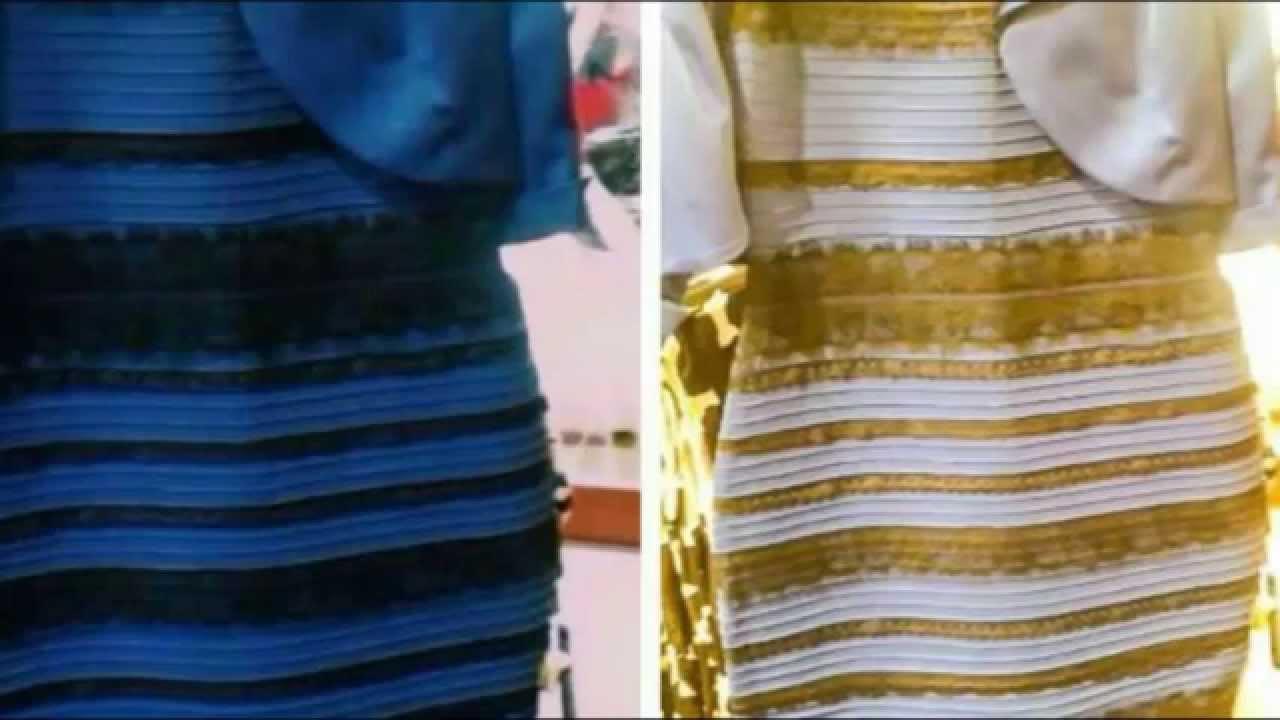 243cfd694 ¡El vestido de dos colores paralizó España! - El Gancho