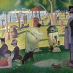 Tarde de domingo en la isla de la Grande Jatte, de Georges Seurat