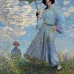 Mujer con Sombrilla, de Claude Monet