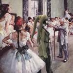 La clase de danza, de Edgar Degas