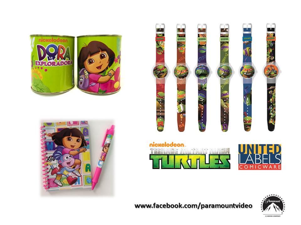 Pack Regalos Ninja y Dora