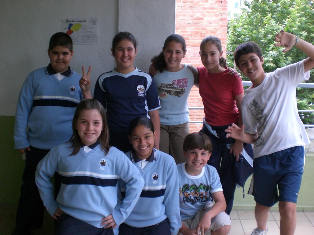 Jose A., Carmen G., Noelia, Carmen P., David, María, Karol y Jesús
