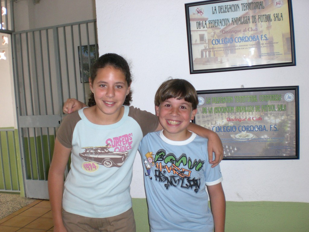 Noelia Calzada y Jesús Martínez 5ºB