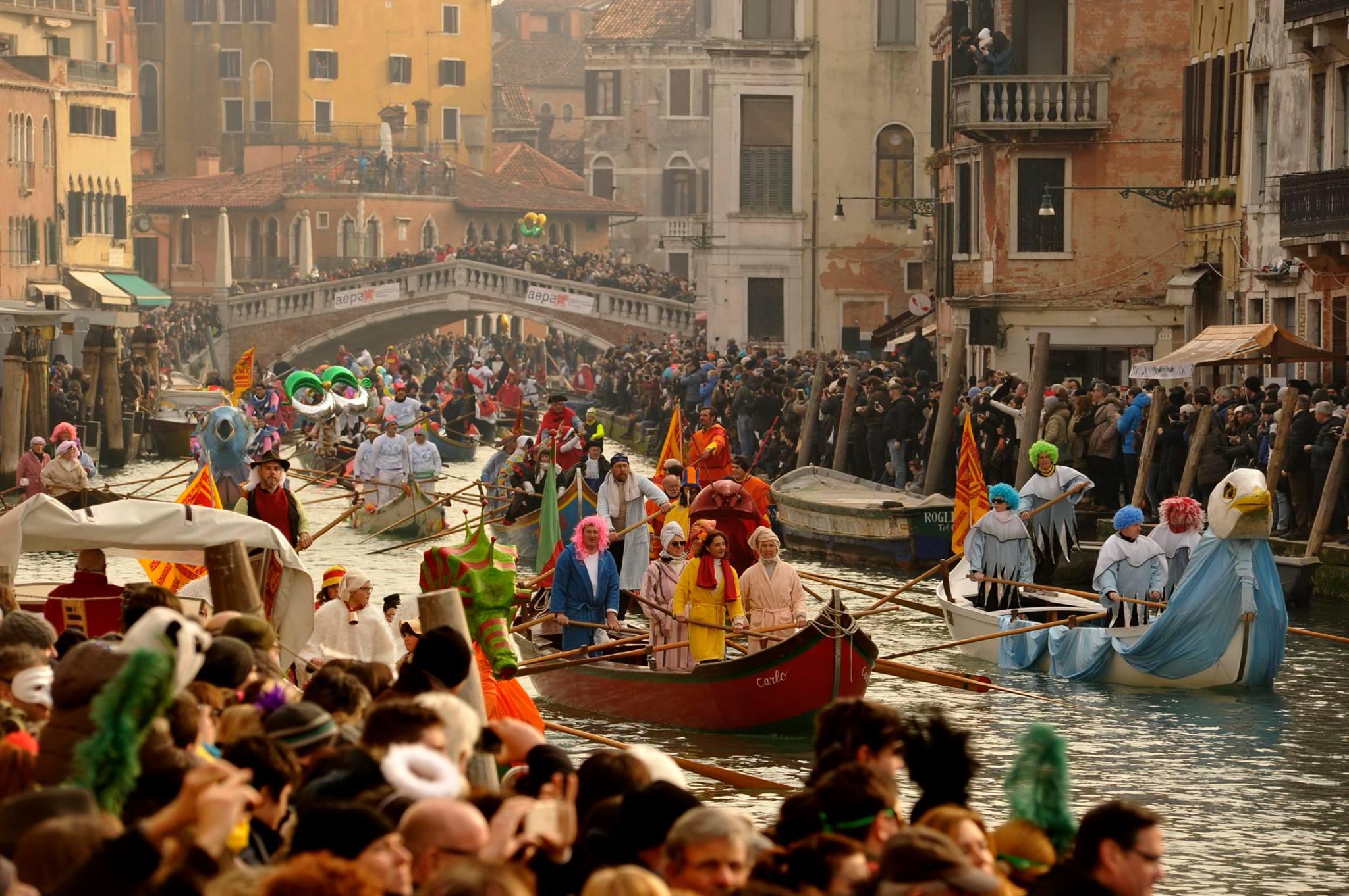 ¡El Carnaval de Venecia! - El Gancho