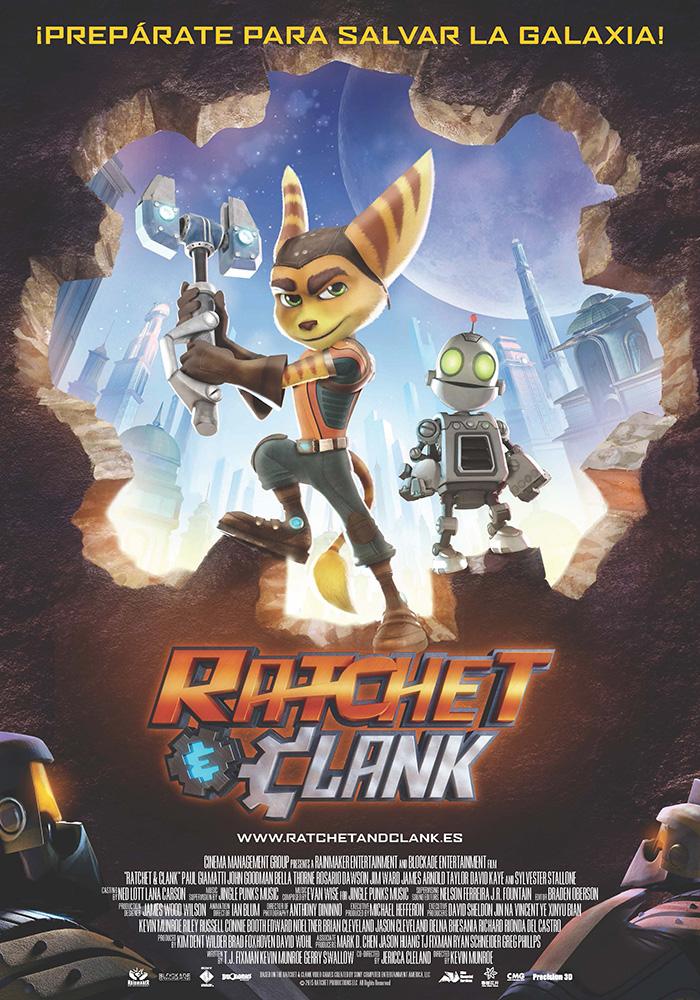 Cartel Ratchet & Clank La Película