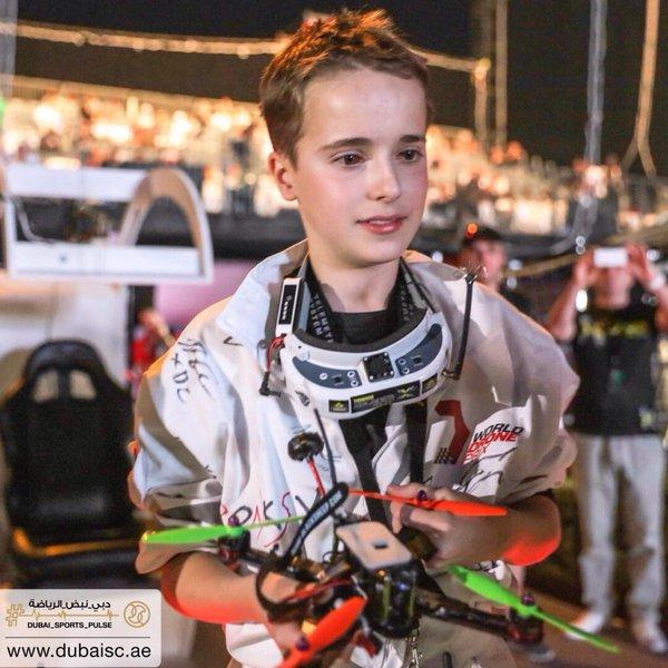 campenon mundial drones Luke-Bannister-Ganador