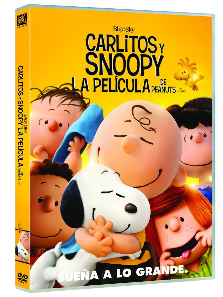 CARLITOS Y SNOOPY. PEANUTS_DVD