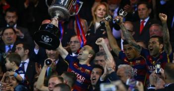 El Gancho. Barcelona gana copa del rey