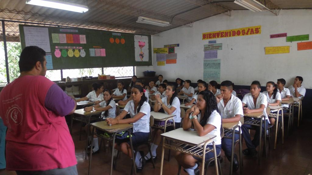 El Gancho. Comite-de-Proteccion-escolar-en-taller-de-formacion