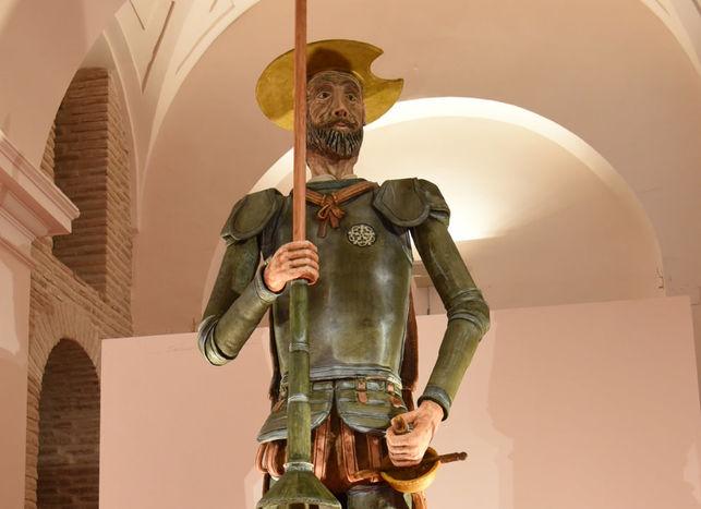 El Gancho. El Quijote-Mazapan-mas-grande-mundo
