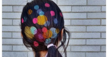 El Gancho. Hair stencil