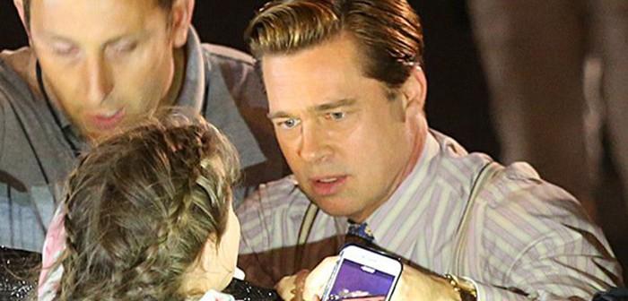 Brad Pitt rescata a una fan en Canarias