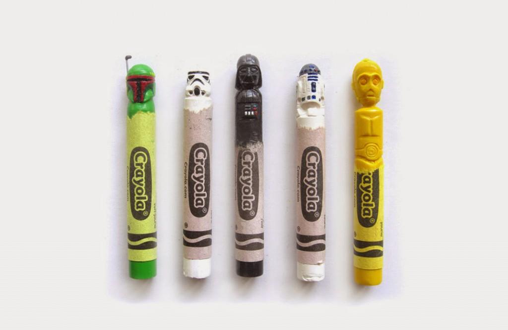 El Gancho. escultura-crayola-dos