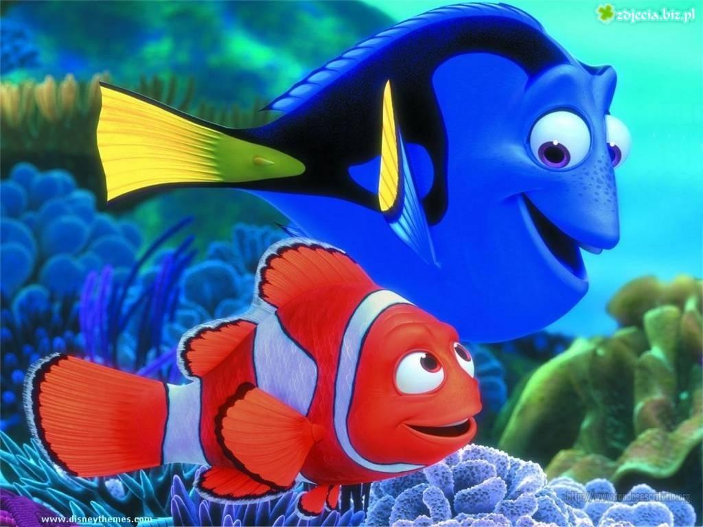El Gancho. Dory y Nemo