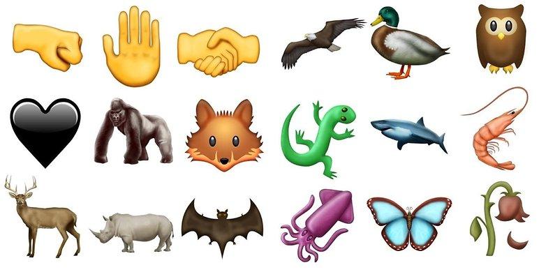 El Gancho. Nuevos emojis