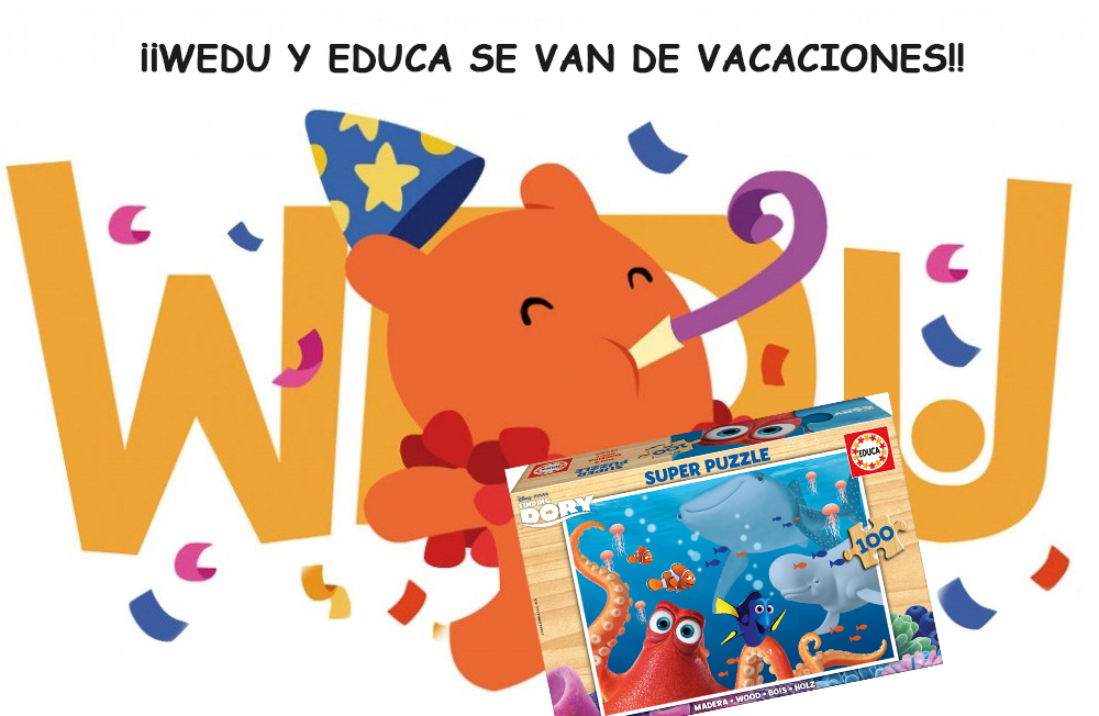 HOME EDUCA Super Puzzle 100 pz Buscando a Dory