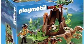 ¡Llévate los Velociraptors con exploradora de Playmobil!