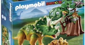 Noviembre. Concurso Triceratops con Bebe