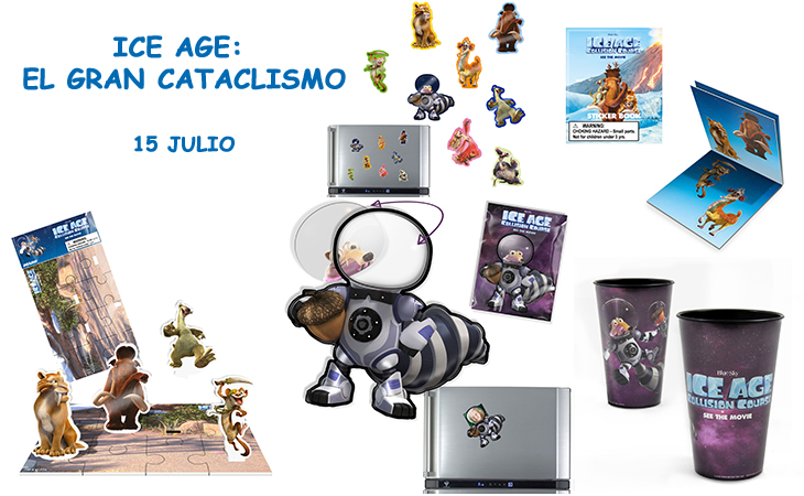 Concurso El Gancho. Ice Age-El gran Cataclismo Home