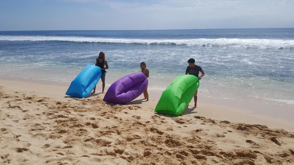 El Gancho. Bali beach bed1