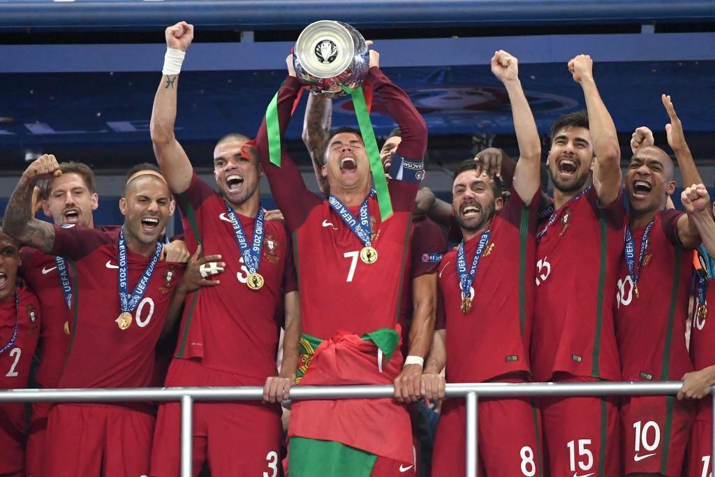 El Gancho. Gana-Portugal-eurocopa