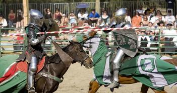 El Gancho. Justas de caballo