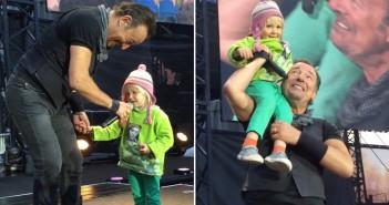 El Gancho. Springsteen en Oslo con niña