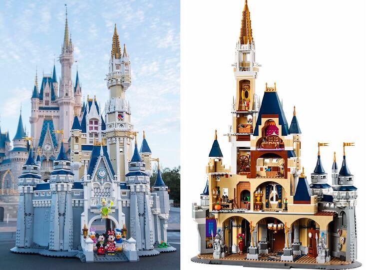 El Gancho. el-castillo-de-Disney-de-lego