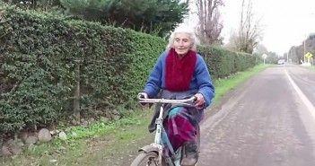 30 km en bici con 90 años