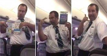Atencion al auxiliar de vuelo