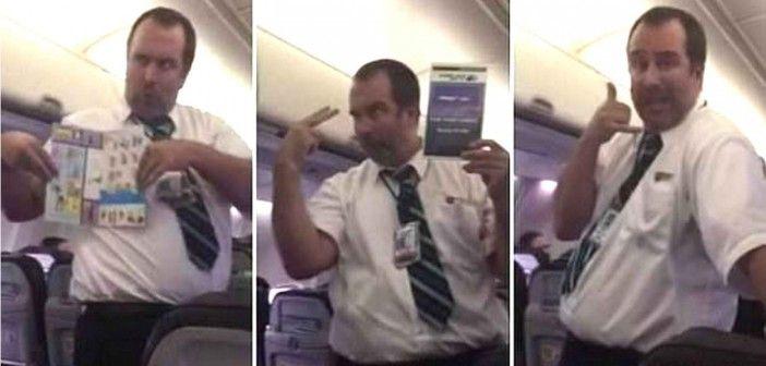 ¡Cómo atender a los auxiliares de vuelo!