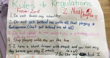 Carta niña de 11 años que la deje en paz