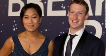 Mark Zuckerberg, y su mujer Priscila Chan donarán 3.000 millones