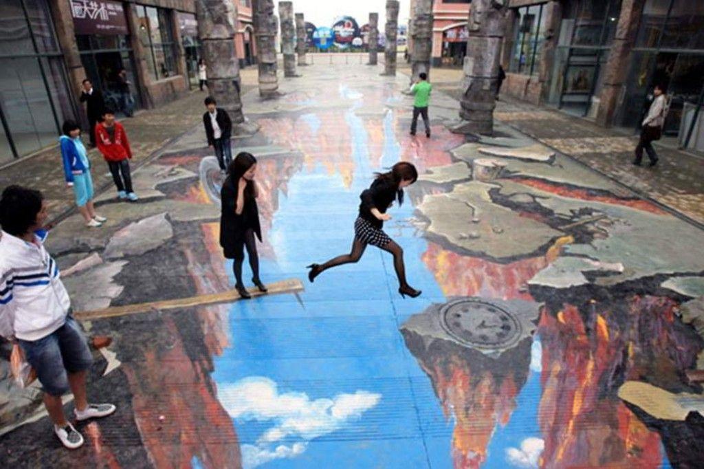 Arte en 3D en la calle1