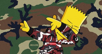 Bart Simpson dap dance