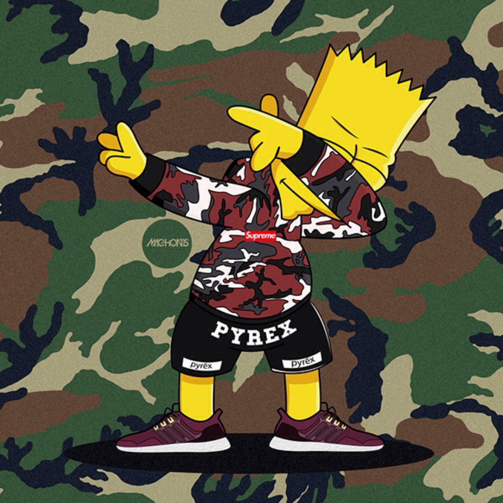Bart simpson dap dance1