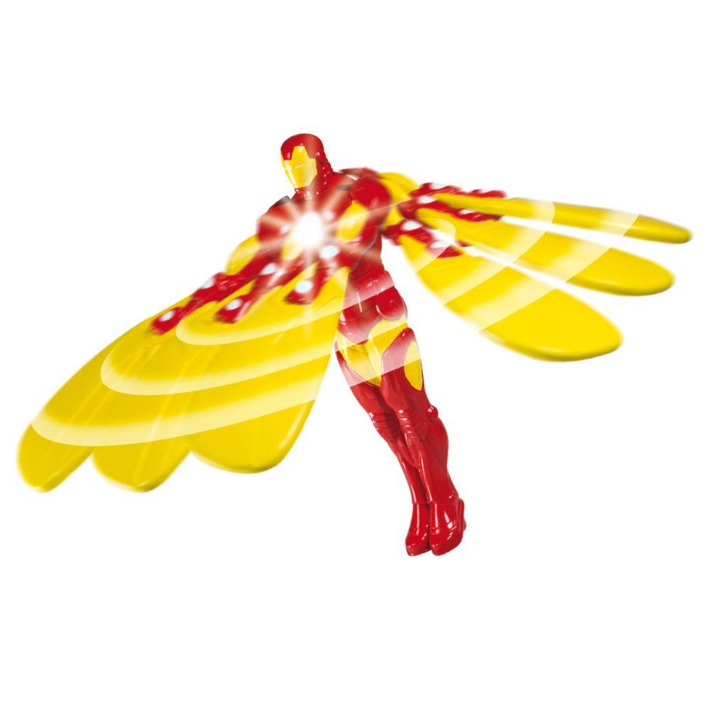 Flying Heroes Iron luz