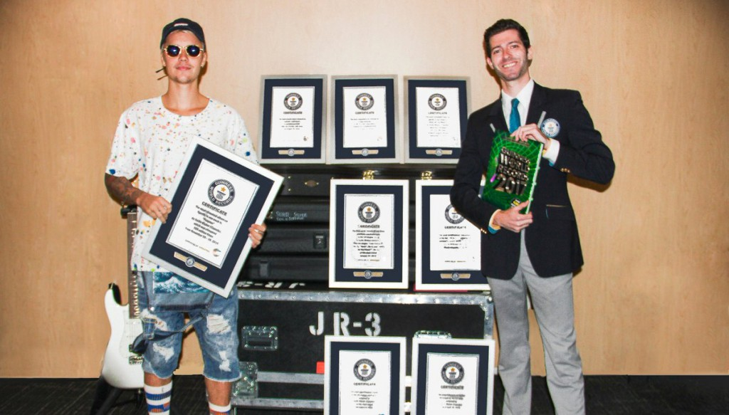 Justin bieber record guinness 2017_home
