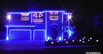 Luces y musicas para halloween