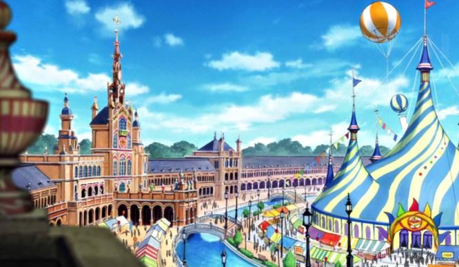 Serie animacion en sevilla