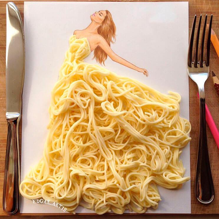 Arte en la comida1