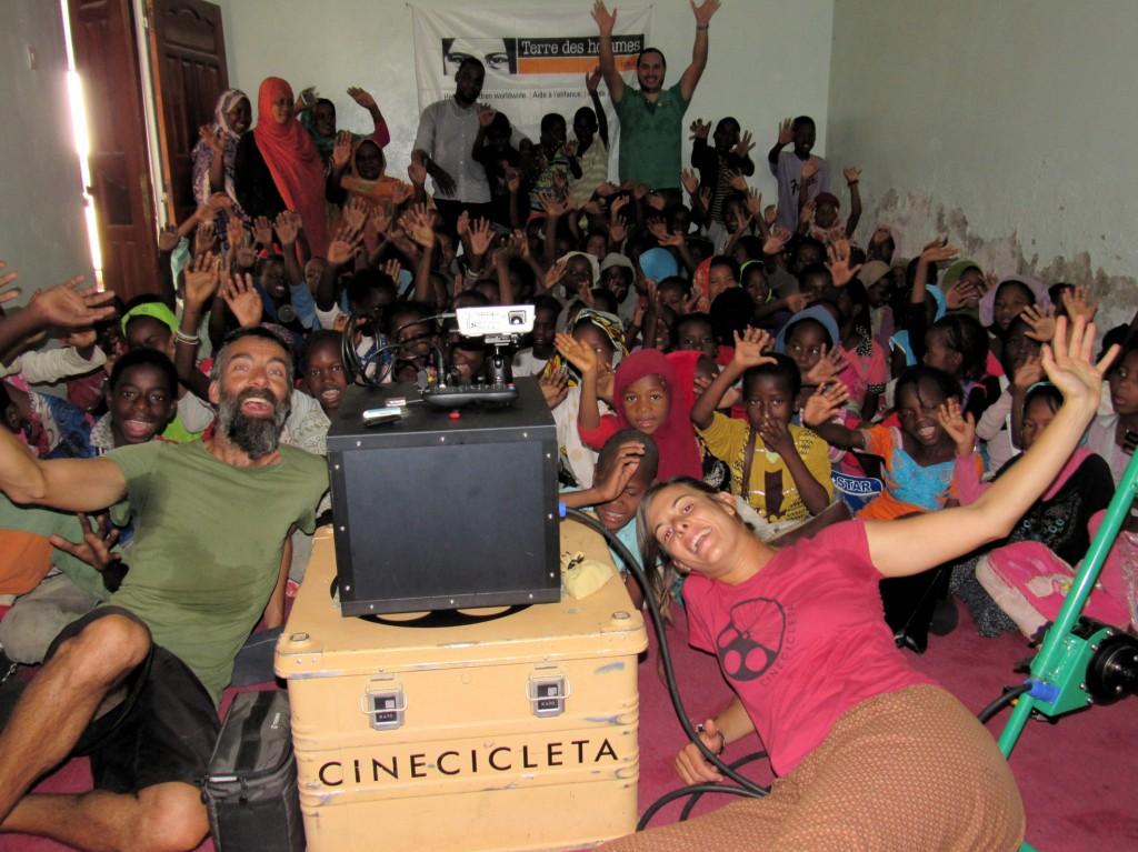 Cinecicleta, cine por africa