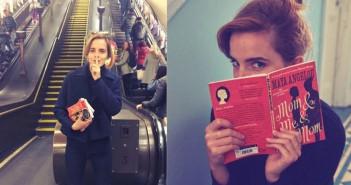 Emma Watson apuesta por la lectura